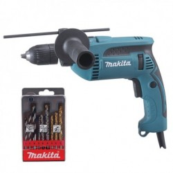 KIT TALADRO PERCUT. 13MM 680W MAKITA